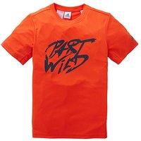 adidas Youth Boys Training Slog T-Shirt