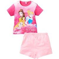 Disney Princess Girls Short Pyjamas