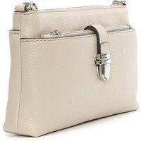 Michael Kors Grey Leather CrossBody Bag