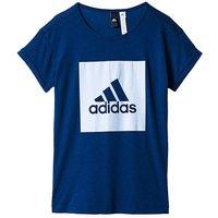 adidas Youth Girls Logo Loose T-Shirt