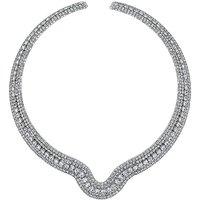 Jon Richard Diamante Collar Necklace