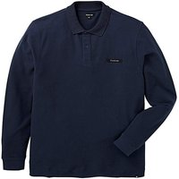 Firetrap Mast Long Sleeved Polo Long
