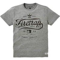 Firetrap Francisco T-Shirt Long