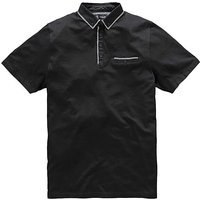Black Label By Jacamo Orion Polo Long