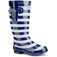 Splash Miss Stripe Wide EEE fit Wellies