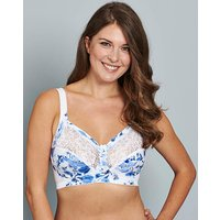 Miss Mary Non Wired Print Bra