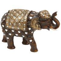 Mirror Glass Elephant