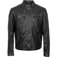 Woodland Leather Biker Jacket