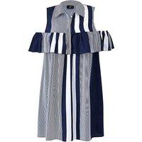 AX Paris Ruffle Detail Stripe Dress