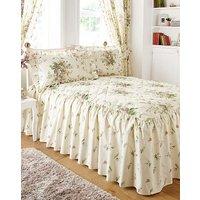 Vantona Madeleine Cream Fitted Bedspread