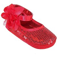 Sparkle Club Red Softsole Baby Shoes