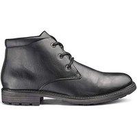 Leather Look Chukka Boot