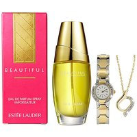 Estee Lauder Beautiful 30ml EDP & Gift