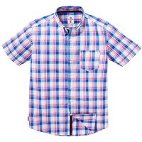 Lambretta Price Large Check Shirt Long