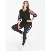 Junarose Sheer Sports Jumper