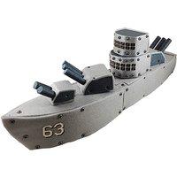 Real Construction Battleship Build Set