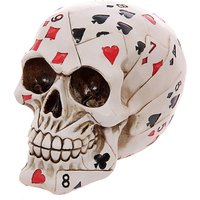 Novelty Skull of Cards Ornament