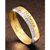 Precious Sentiments Gold Band Ring
