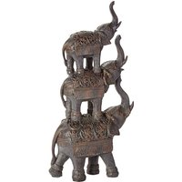 Stacked Elephants Ornament
