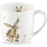 Wrendale Good Hare Day Fine China Mug