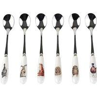 Wrendale Tea Spoons Set of 6