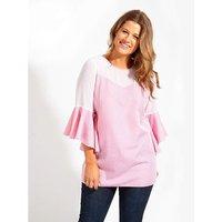 Lovedrobe GB Pink Gingham Blouse