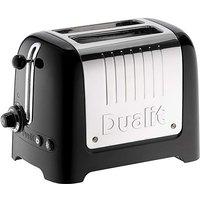 Dualit Lite 2 Slot Black Toaster