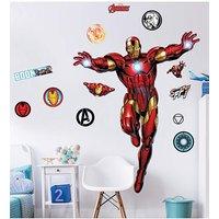 Marvel Iron Man Large Character Sticker