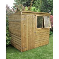 Forest Tongue and Groove 7 x 5 Pent