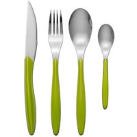 Swan Oslo 24 Piece Cutlery Set Green