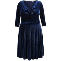 Lovedrobe Velvet Twist Dress