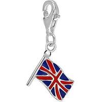 Sterling Silver Enamel British Charm