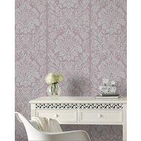 Gloriana Mulberry Wallpaper