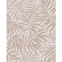 Tropic Beige and Rose Gold Wallpaper at JD Williams Catalogue