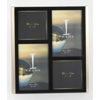 iFrame Black & Gold Multi Photo Frame at JD Williams Catalogue