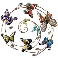 Bright Butterfly Whirl Wallart