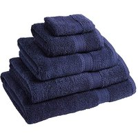 Supersoft Snuggle Towel Navy