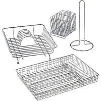 4 Piece Kitchen Accessory Set