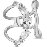 Jon Richard crystal curved ring