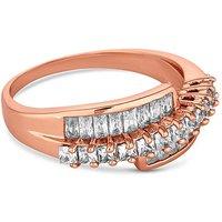 Jon Richard crystal twist ring