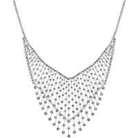 Jon Richard crystal v collar necklace