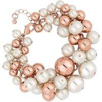 Mood Pearl Cluster Bracelet
