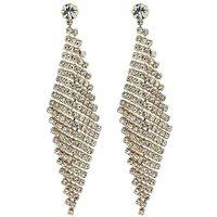 Jon Richard diamante chandelier earring