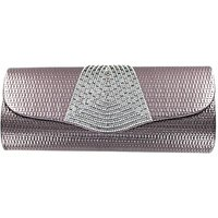 Lizzie Lee Faux Leather Evening Bag