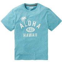 Jacamo Aloha Graphic T-Shirt Regular