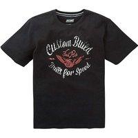 Jacamo Custom Graphic T-Shirt Long