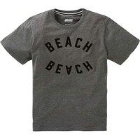 Jacamo Beached Grahic T-Shirt Long