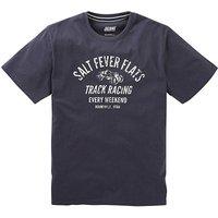 Jacamo Fever Graphic T-Shirt Long