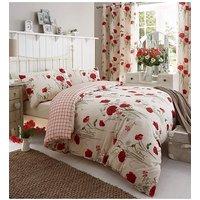 Catherine Lansfield Wild Poppies Bedding