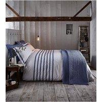 BCS Chambray Pleats Bedspread